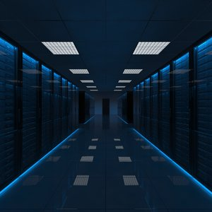 3ds max server room