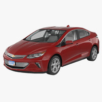 3d chevy volt 2016 simple