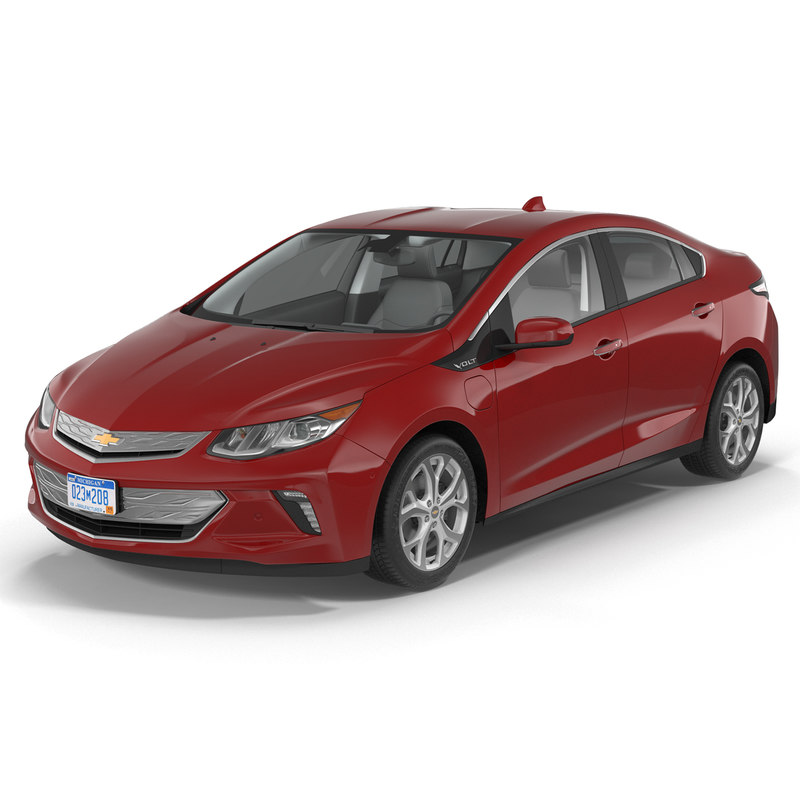 chevy volt 2016 simple 3d 3ds