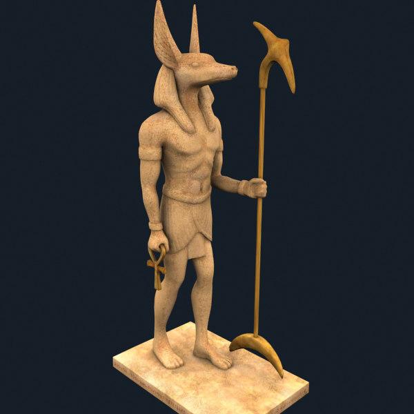 3d model sphinx ram