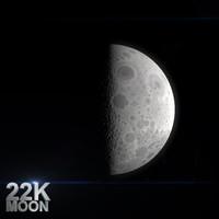 3d moon 22k