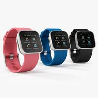 3d sony smartwatch watch model