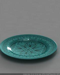 3ds moroccan ceramic plate