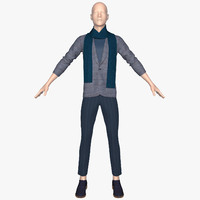 3ds mannequin jacket pants