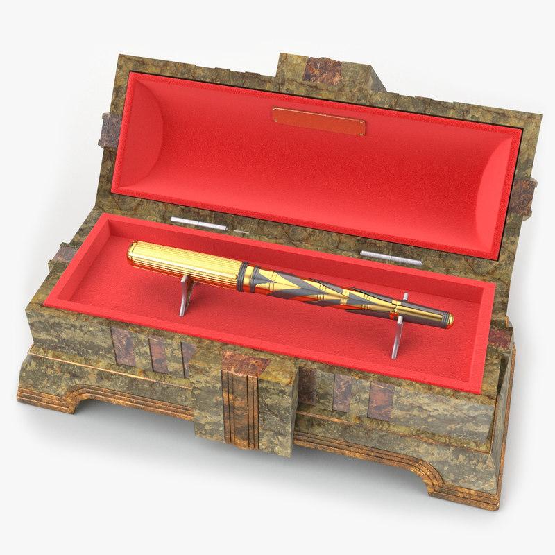 3d box pen