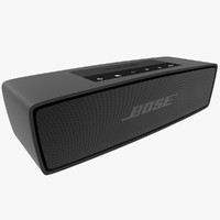 bose soundlink mini black 3d 3ds