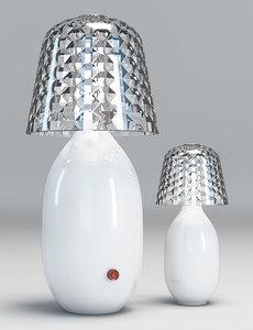 desk lamps baccarat candy 3d model