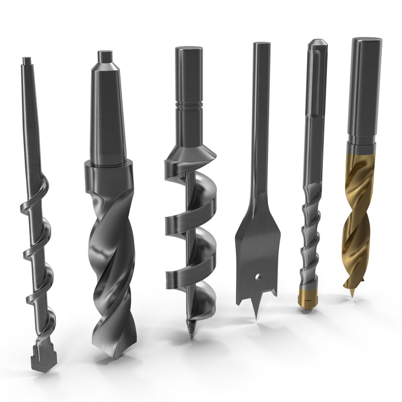 max drill bits set