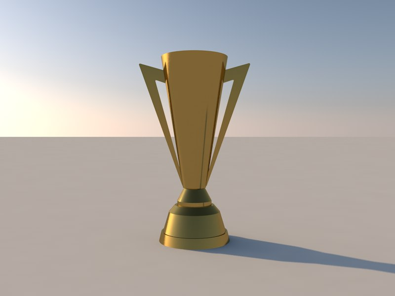 3d trophy concacaf golden cup