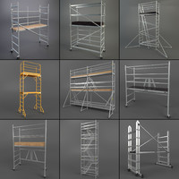 scaffold towers set