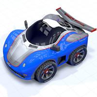 toon car sport race