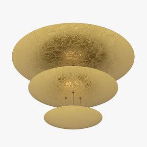 3d catellani lamp light