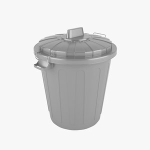 trash realistic 3d model