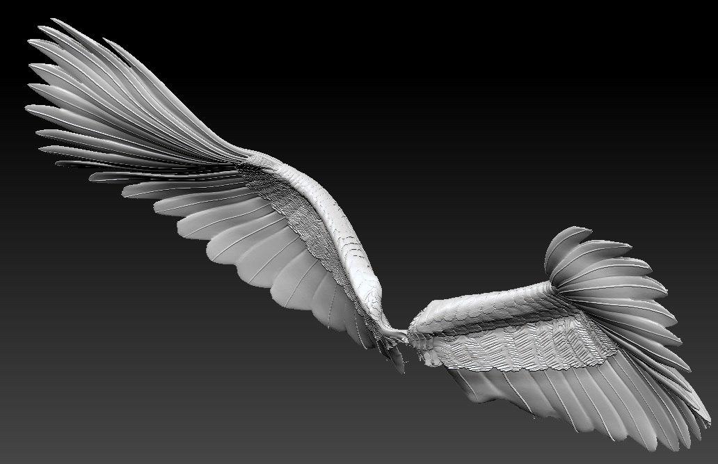 obj wings
