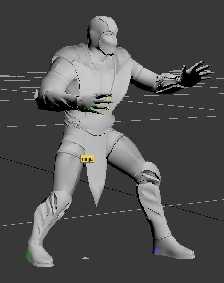 3d games animation