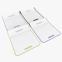 bamboo pad 4 colors 3ds