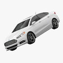 Ford fusion 3D models