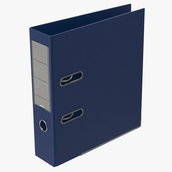 3d max ring binder blue