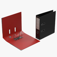 3d ring binders set