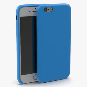 obj iphone 6 silver case