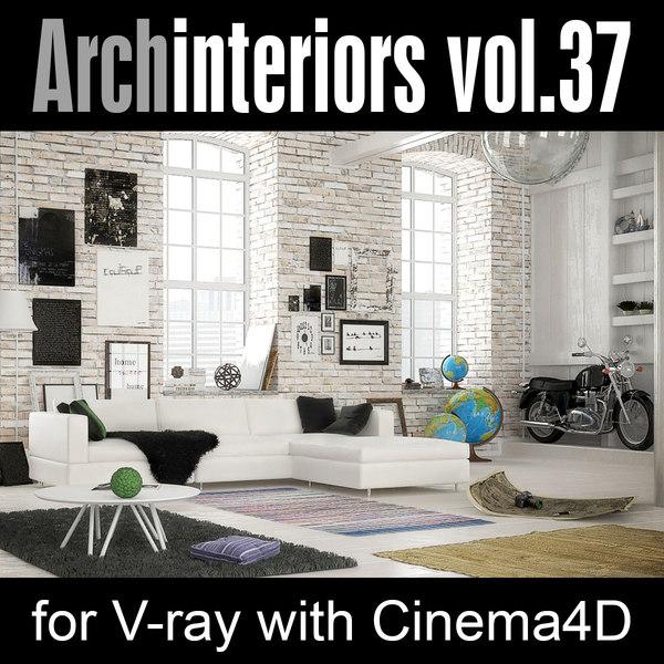 cinema4d archinteriors vol 37 interiors
