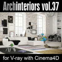 Archinteriors for C4D vol. 37
