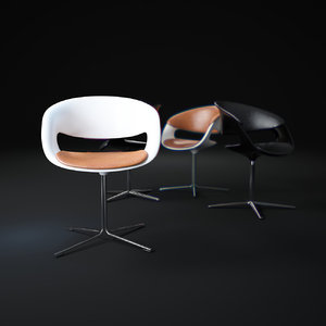 lox-chair 3d model