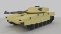 free blend model merkava mk4 tank
