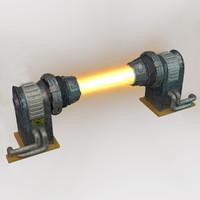 Sci-fi plasma generator