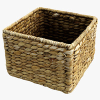 straw basket x