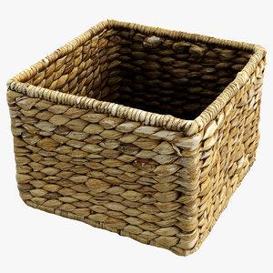 straw basket x