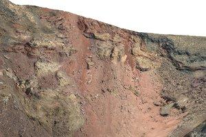 maya volcano crater scan hd