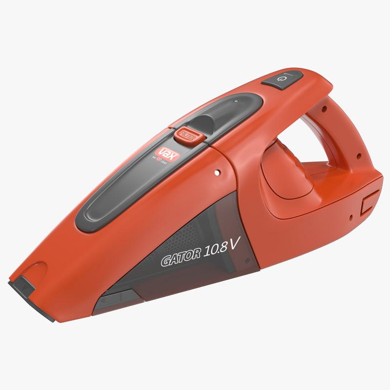 handheld vacuum cleaner gator 3d c4d