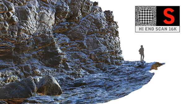 3d cliffs ocean ultra hd