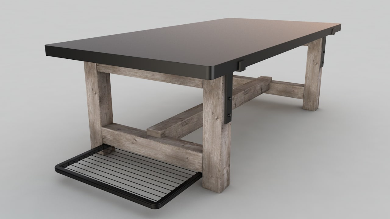 3dsmax desk office table