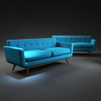 3d nixon-sofa model