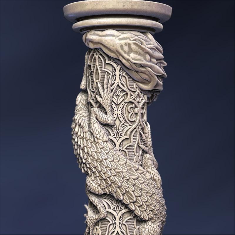 column dragon max