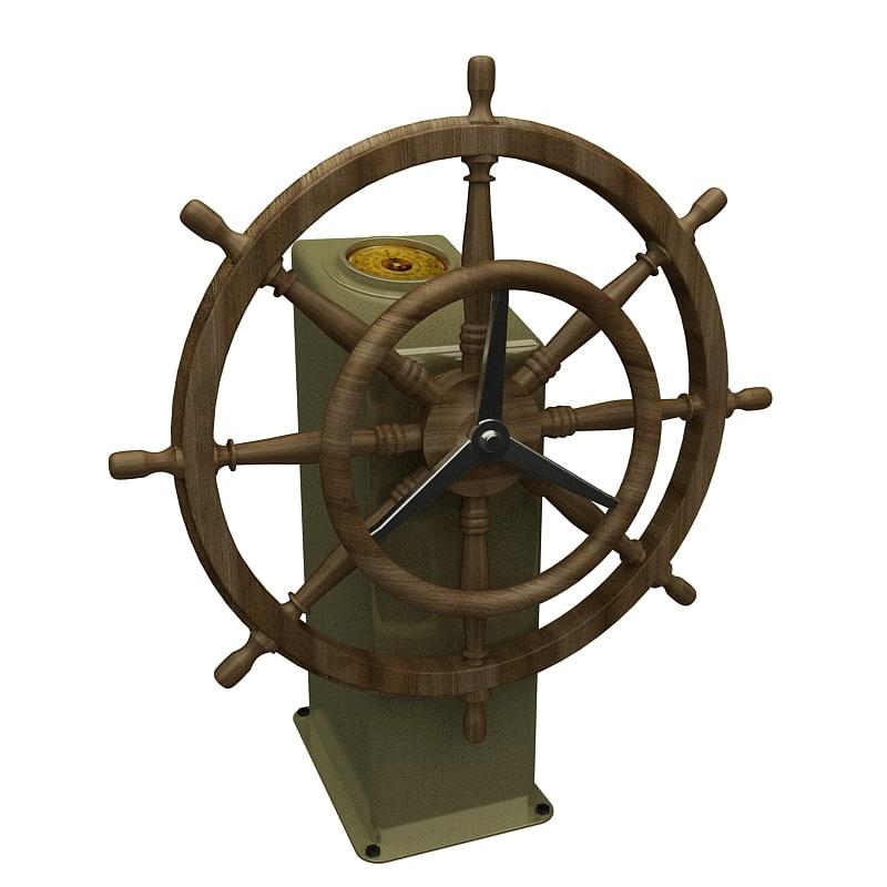 3dsmax ship rudden