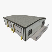warehouse 3d max