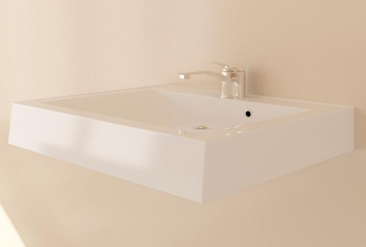 ceramic bathroom sink 3d max