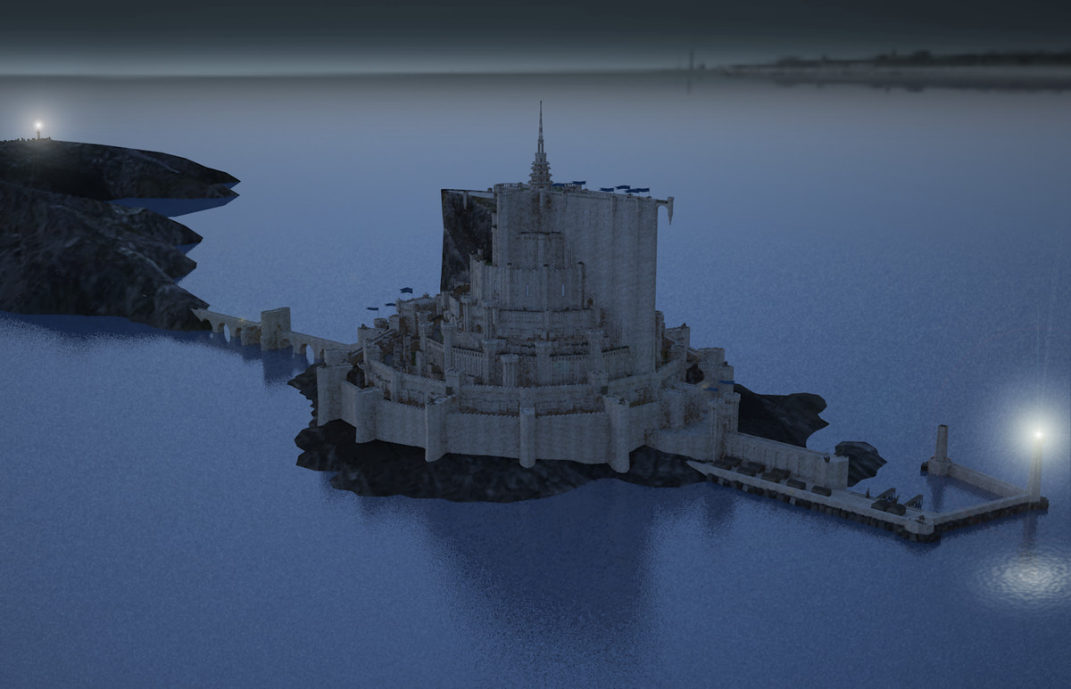 3ds max medieval citadel