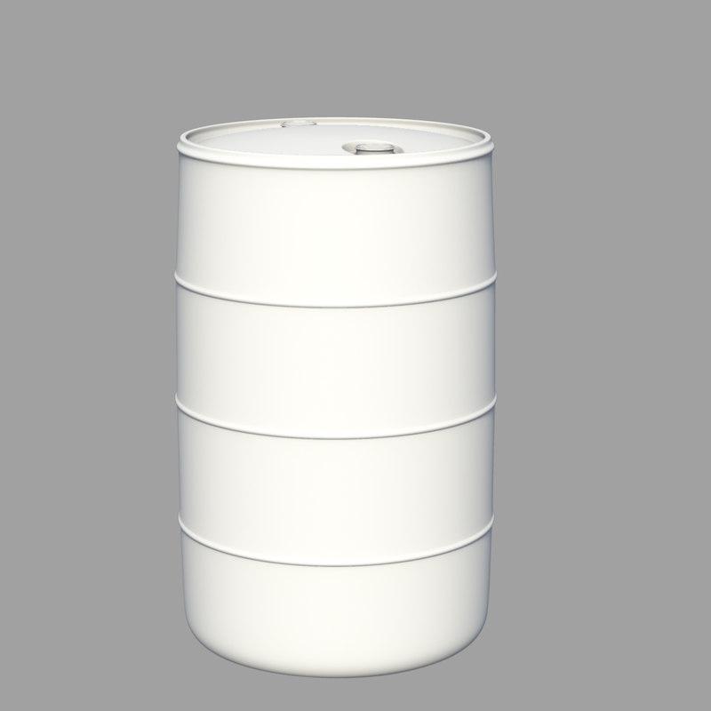 water drum 3d obj