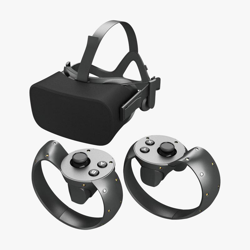 3ds max oculus rift touch