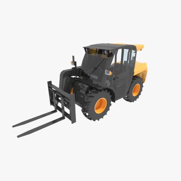 3d model loadall industries