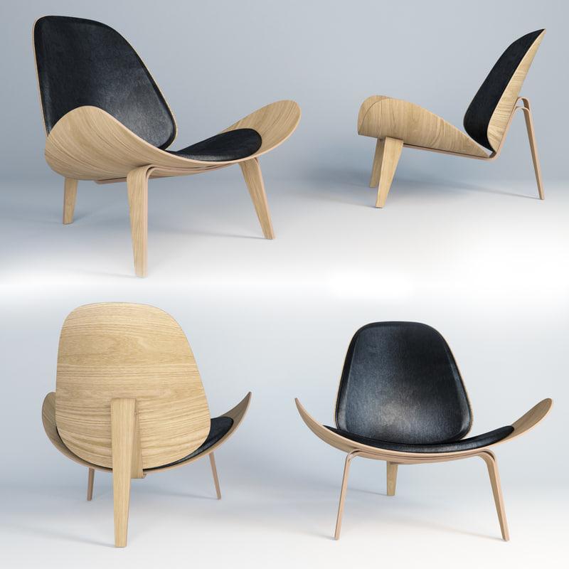 model ch07 lounge chair hans wegner