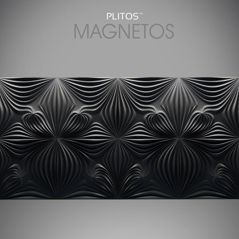 3ds max panel plitos magnetos wall