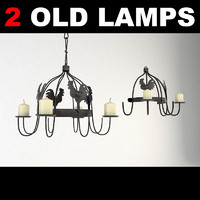 3ds max old wall lamp furniture