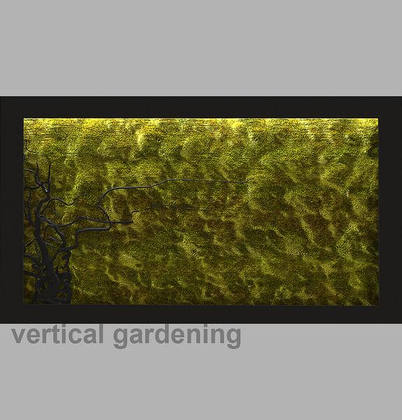 3d model vertical gardening