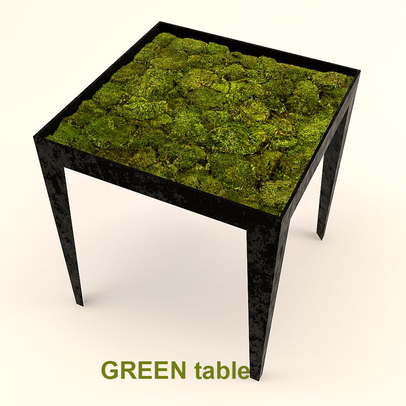 eco furniture 3d model