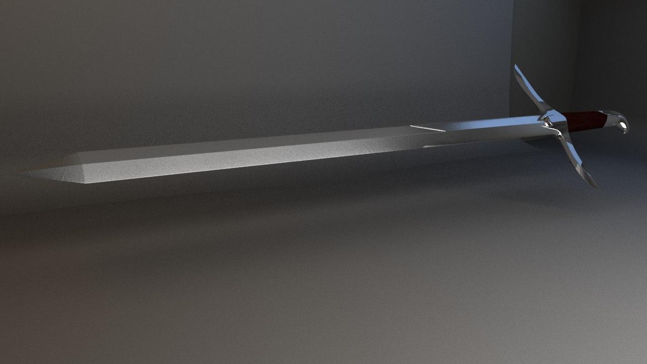 3d sword altair